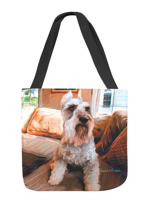 Paws & Whiskers 18in Tote Bag - Schnauzer (SOSHNZ)
