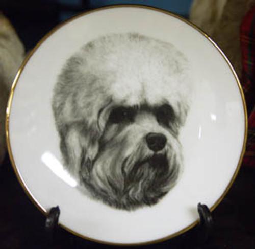Mini Best In Show 4in Porcelain Plate - Dandi Dinmont
