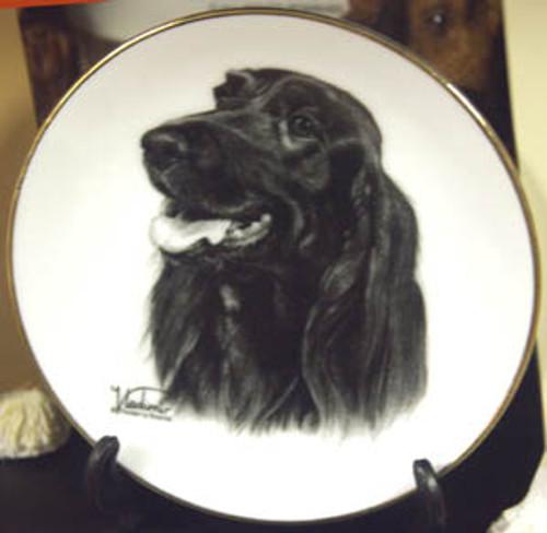 Mini Best In Show 4in Porcelain Plate - Irish Setter