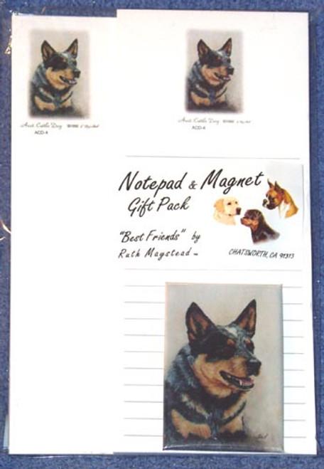 Ruth Maystead Gift Pack - Australian Cattledog (ACD4)
