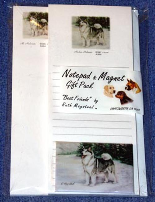 Ruth Maystead Gift Pack - Alaskan Malamute (ALM6)