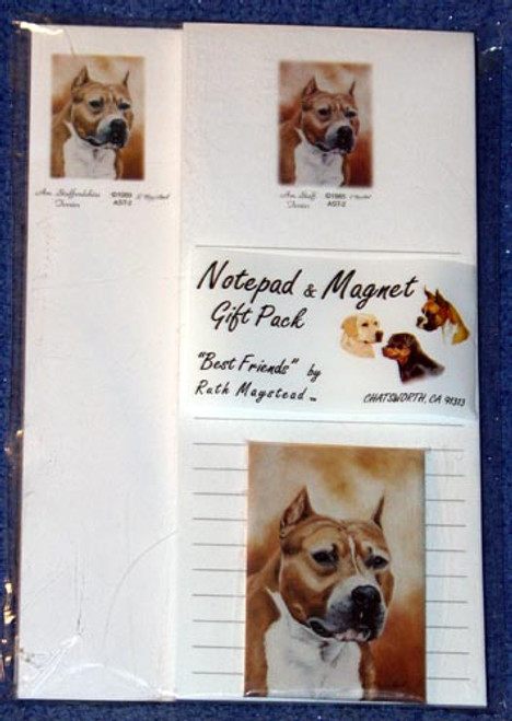 Ruth Maystead Gift Pack - American Staffordshire Terrier (AST2)