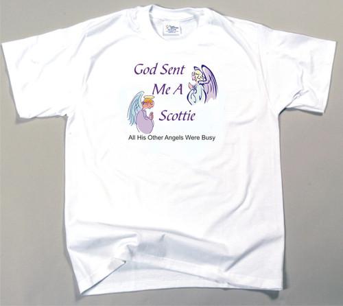 God Sent Me A Scottie T-Shirt (170-0005-364A)