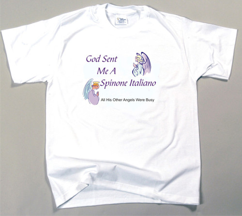 God Sent Me A Spinone Italiano T-Shirt (170-0005-384)