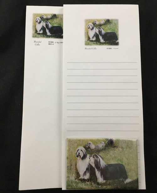 Ruth Maystead Gift Pack - Bearded Collie  (BEC4)