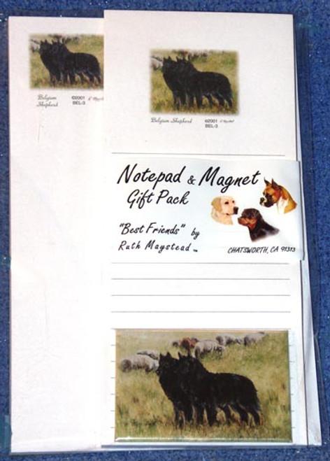 Ruth Maystead Gift Pack - Belgium Shepherd (BEL3)
