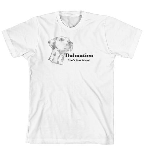 Man's Best Friend Dog Breed T-Shirt - Dalmation (170-0072-206)