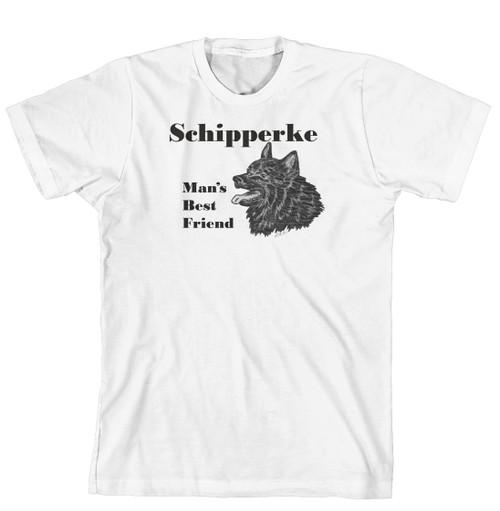 Man's Best Friend Dog Breed T-Shirt - Schipperke (170-0072-360)
