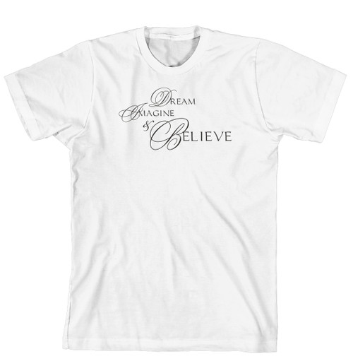 T-Shirt - Dream, Imagine & Believe (170-0022-000)