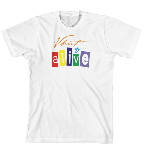 T-Shirt - Vibrant and alive (170-0038-000)