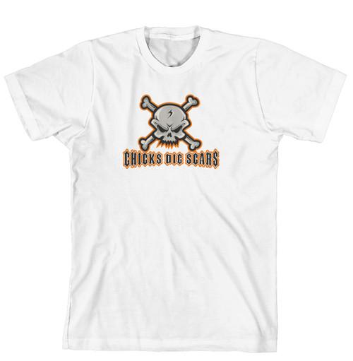 T-Shirt - Chicks Dig Scars (170-0069-000)