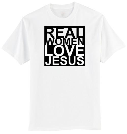 T-Shirt - Real Women Love Jesus (170-0078-001)