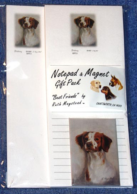 Ruth Maystead Gift Pack - Brittany Spaniel (BRT3)