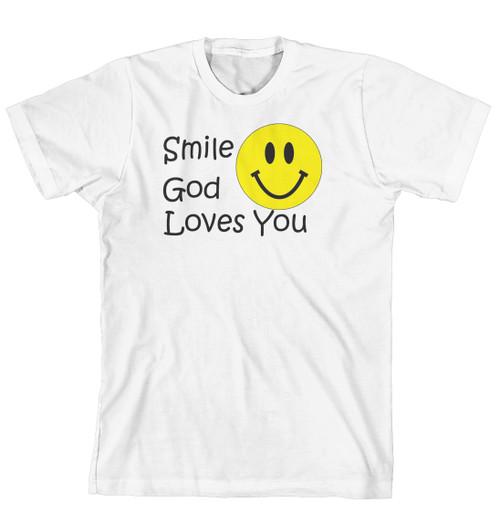 T-Shirt - Smile God Loves You (170-0057-000)