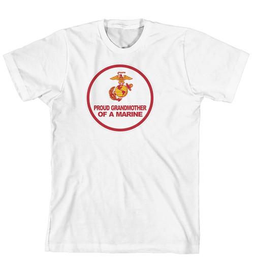 T-Shirt - Proud Grandmother of a Marine (170-0007-012)