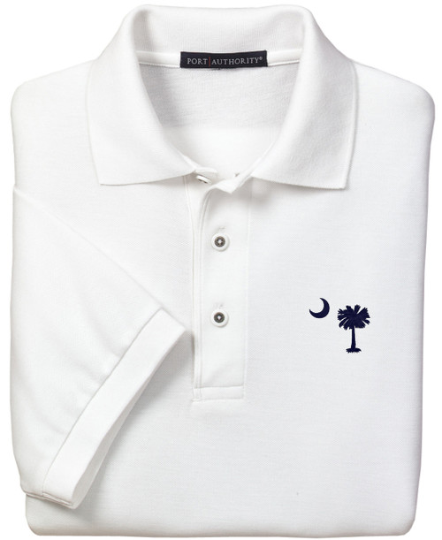 Purple Turtle Gifts - Palmetto Moon South Carolina SC Logo Polo Shirt Available in Several Color Choices