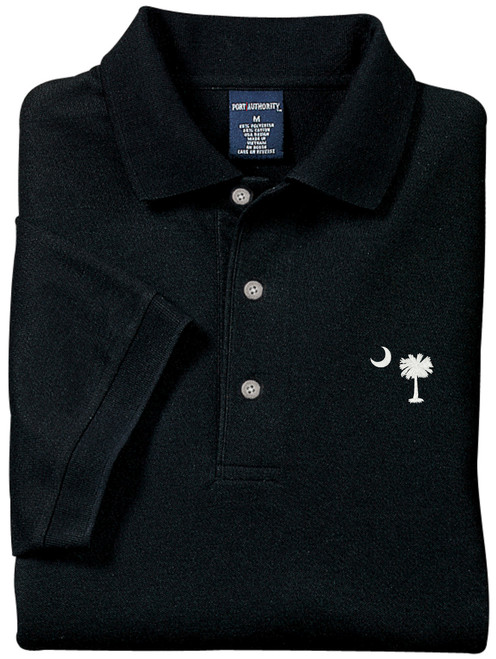 Palmetto Moon Polo Shirt - Black