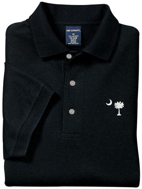 Palmetto Moon Polo Shirt - Black