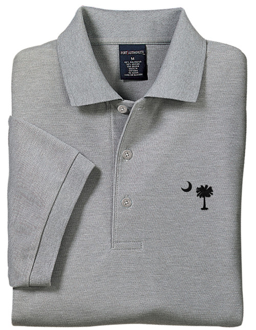 Palmetto Moon Polo Shirt - Cool Grey