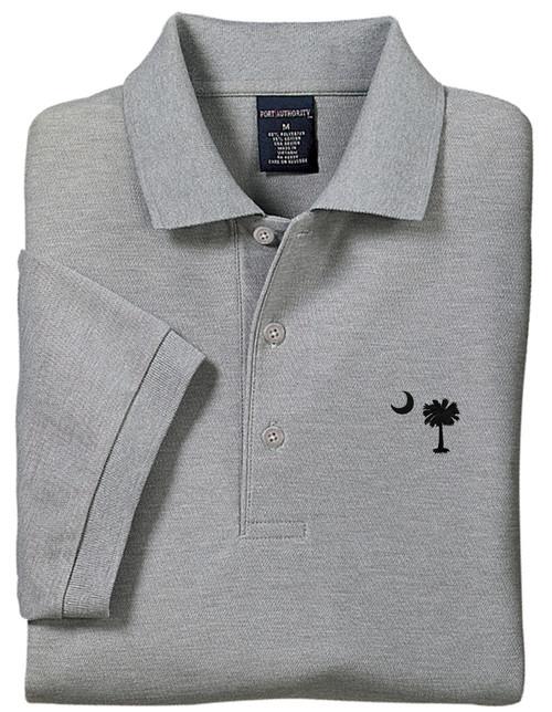 Palmetto Moon Polo Shirt - Cool Grey