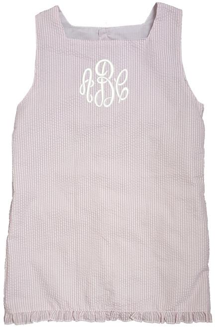 MSC Seersucker Dress - Pink