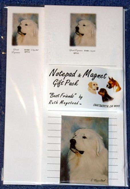 Ruth Maystead Gift Pack - Great Pyrenees (GPY2)