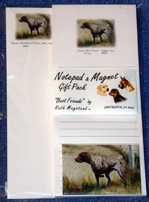 Ruth Maystead Gift Pack - German Shorthaired Pointer (GSP6)