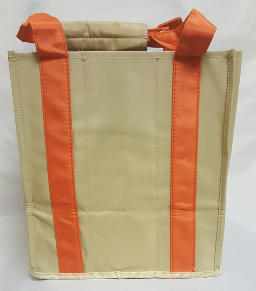 Fine Whines Canvas Party to Go Tote - Orange (PT807)