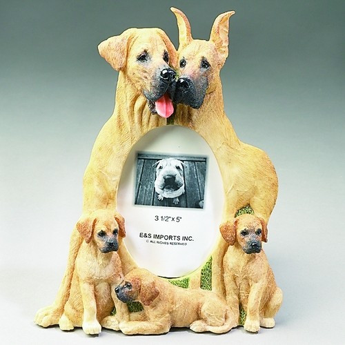 E&S Imports 3x5 Picture Frame - Great Dane (35257-86c)