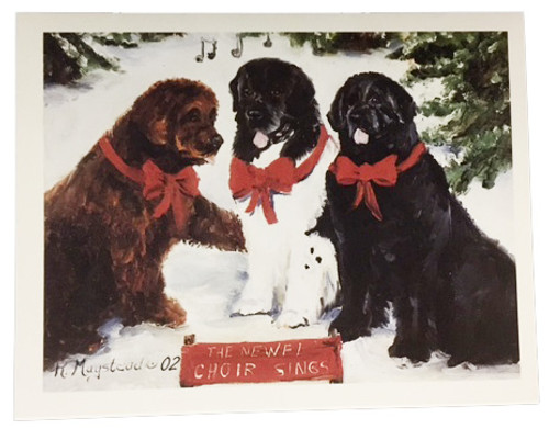 Ruth Maystead Christmas Cards - Newfoundland (NEW7X)