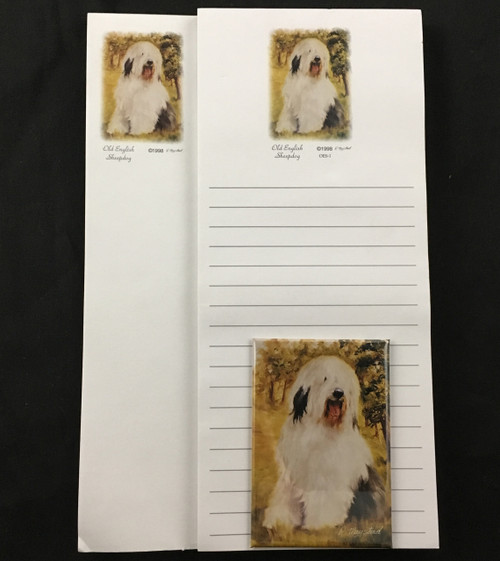 Ruth Maystead Gift Pack - Old English Sheepdog (OES2)