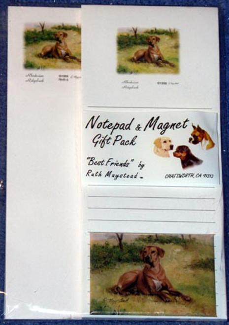 Ruth Maystead Gift Pack - Rhodesian Ridgeback  (RHR5)