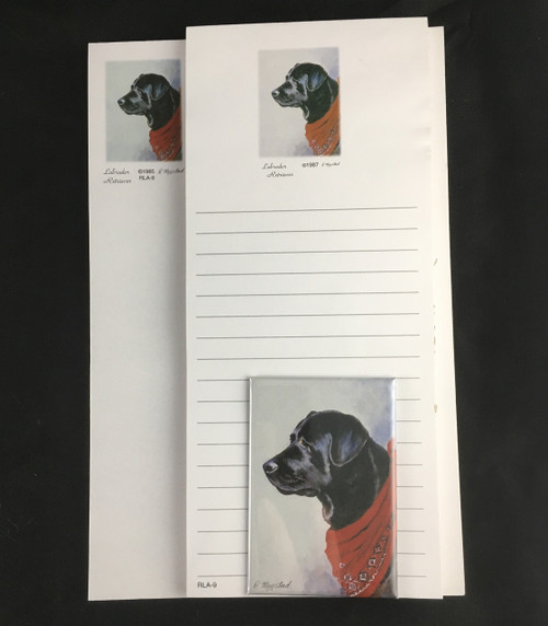 Ruth Maystead Gift Pack - Black Labrador Retriever (RLA9X)