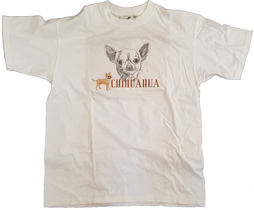 Gr8 Dog Classic Line T-Shirt - Chihuahua (1011)