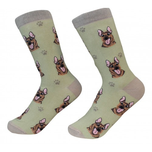 E&S Imports Pet Lover Unisex Socks - German Shepherd (800-75)