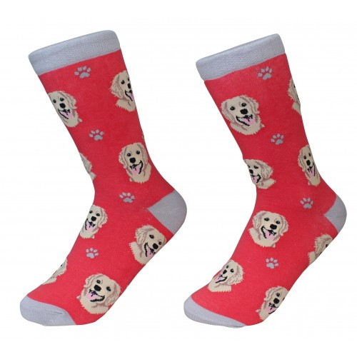 E&S Imports Pet Lover Unisex Socks - Golden Retriever (800-15)