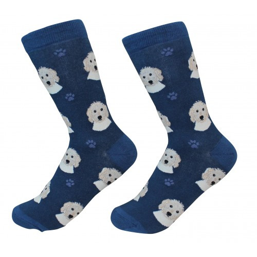 E&S Imports Pet Lover Unisex Socks - Goldendoodle (800-134)
