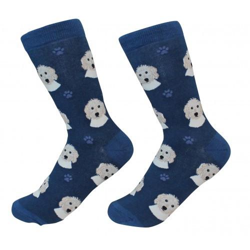 E&S Imports Pet Lover Unisex Socks - Goldendoodle (800-134)