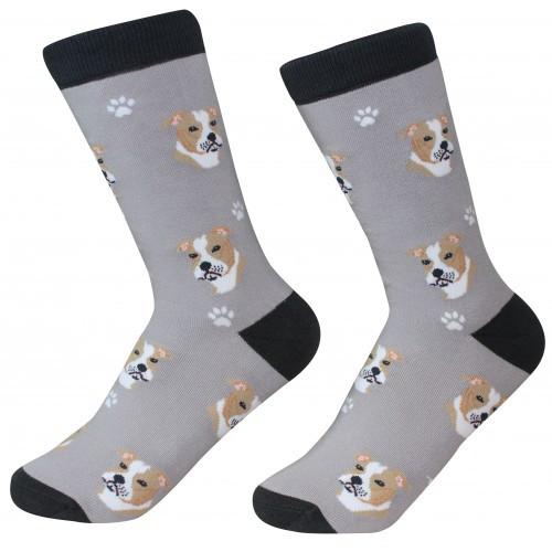 E&S Imports Pet Lover Unisex Socks - Pit Bull (800-26)