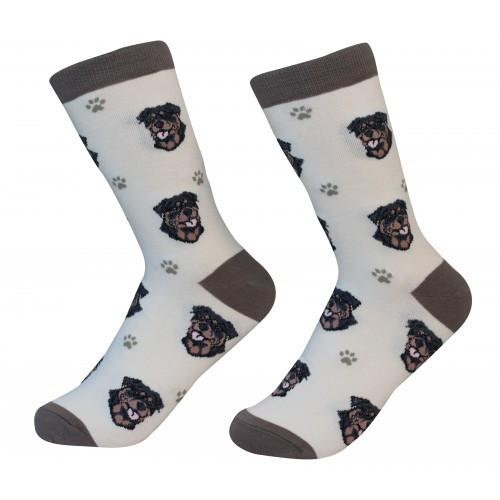 E&S Imports Pet Lover Unisex Socks - Rottweiler (800-33)