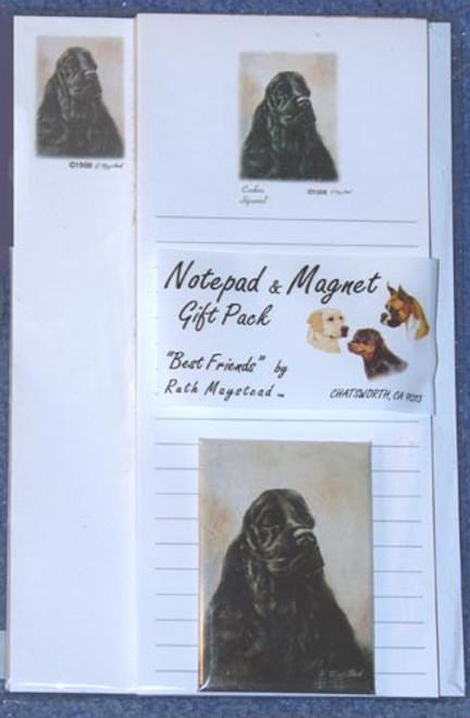 Ruth Maystead Gift Pack - Cocker Spaniel (Black) (SPC5)