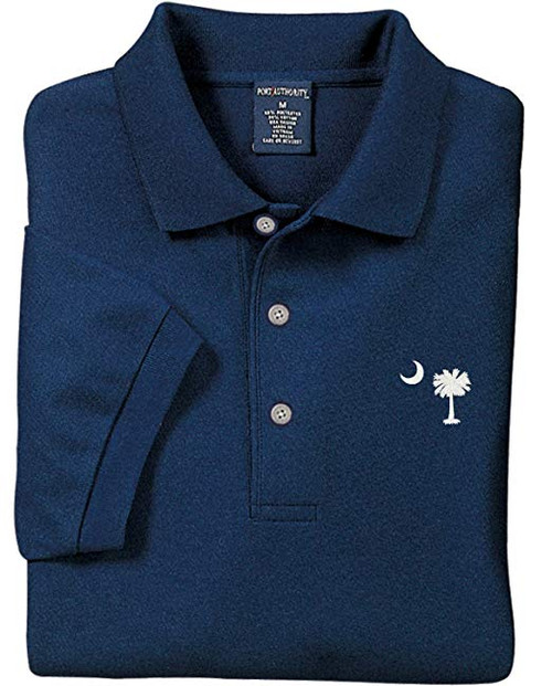 Palmetto Moon Polo Shirt - Navy