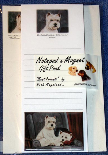 Ruth Maystead Gift Pack - West Highland Terrier (Westie) (WEH10)