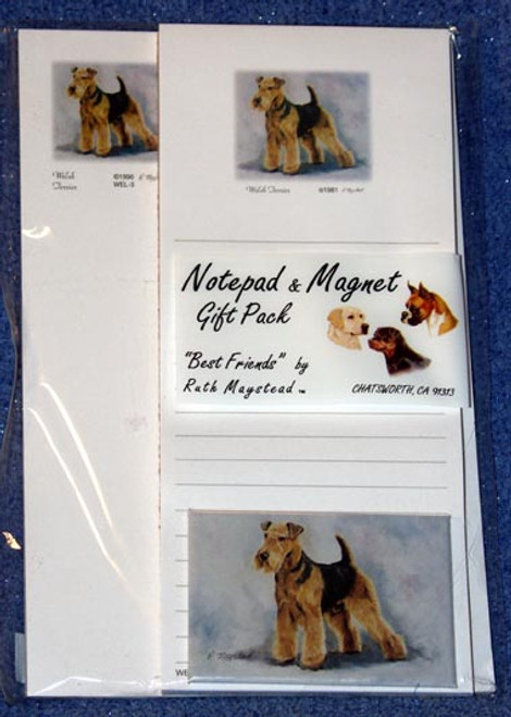Ruth Maystead Gift Pack - Welsh Terrier (WEL3)