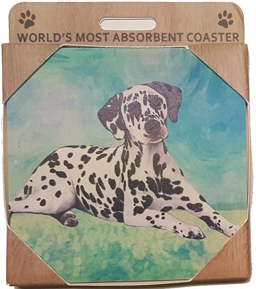 E&S Imports Ceramic Pet Coasters - Dalmatian (250-47)