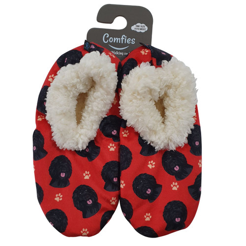 Slippers by E&S Imports - Labradoodle (281-121)