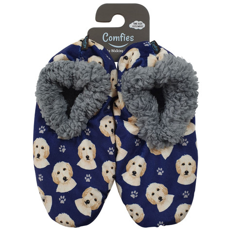 Comfies Pet Lover Slippers by E&S Imports - Goldendoodle (281-134)