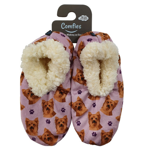 Comfies Pet Lover Slippers by E&S Imports - Yokshire Terrier (Yorkie) (281-46)