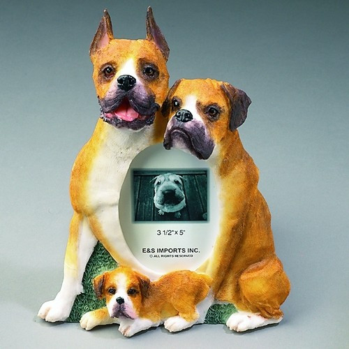 E&S Imports 3x5 Picture Frame - Boxer (35257-47)