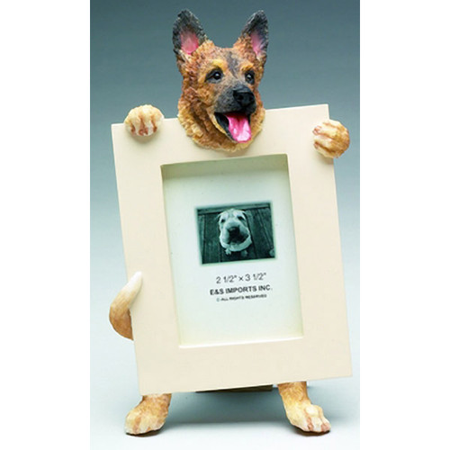 E&S Imports 2.5in x 3.5in Picture Frame - German Shepherd (35315-75)